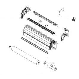 K9314245015 Box Switch Inner Assy HY# Plastic Gray W/Metal