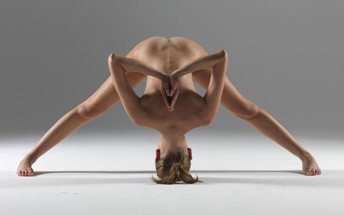 Idea nude yoga instructor