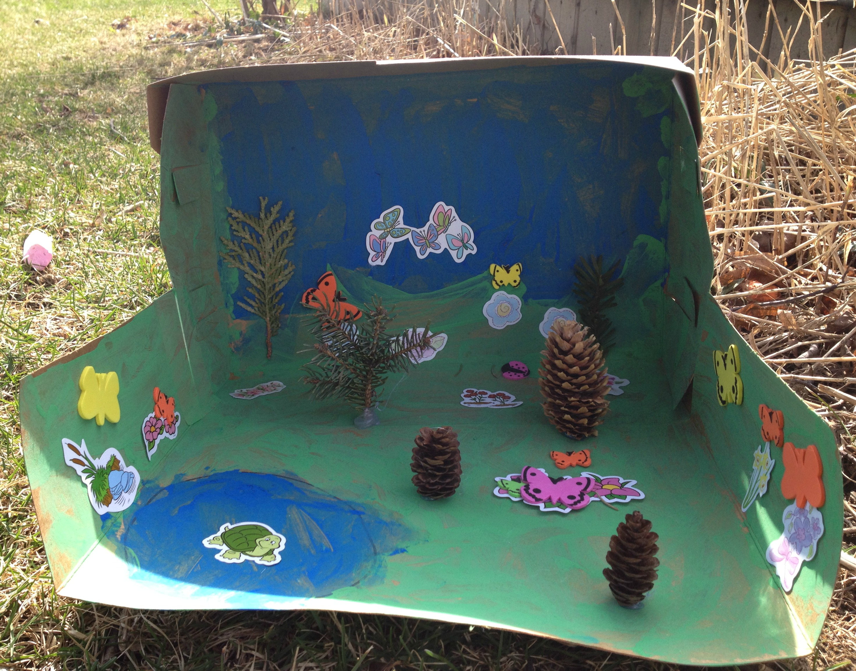 Earth Day Preschool Butterfly Habitat Craft Amp Lesson With