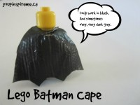 Lego Figure Cape from Duct Tape | You Pinspire Me