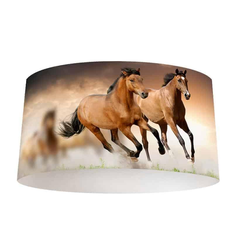 Lampenkap Paarden Speciaal op maat voor jou gemaakt