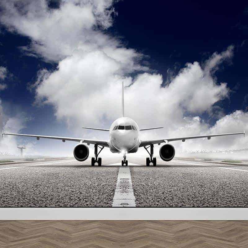 Fotobehang Vliegtuig Op maat gemaakt YouPrinl