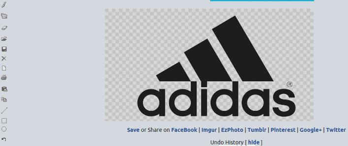 adidas logo done transparent