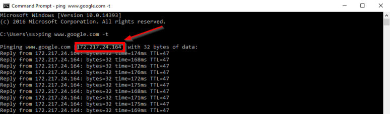 how to ddos using command prompt
