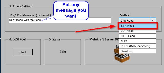 minekraft adjusting attack settings