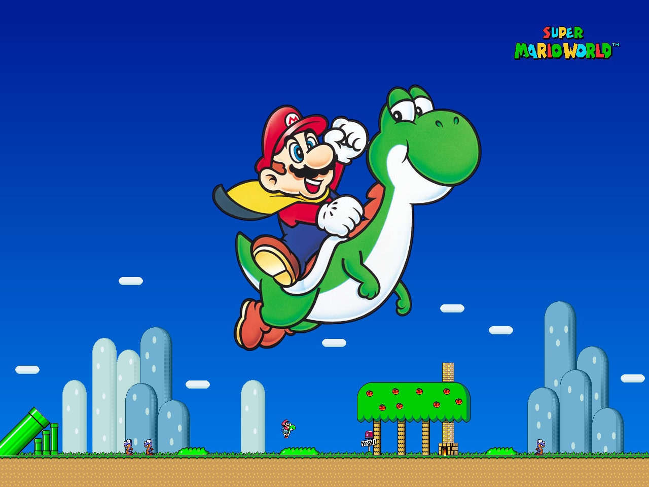 Latest Super Mario World Rom Direct Download [1MB]