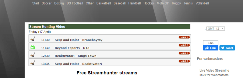 streamhunter