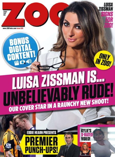 "Luisa Zissman17 749x1024 - Luisa Zissman is ""Unbelievably Rude"" for Zoo Magazine"