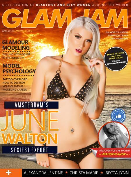 June Walton 786x1024 - June Walton topless for Glam Jam Magazine