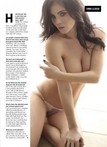 Emma Glover3 - Emma Glover very sexy for Nuts Magazine
