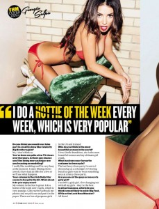 Georgia Salpa6 - Georgia Salpa for FHM Magazine South Africa