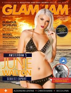 June Walton - June Walton topless for Glam Jam Magazine