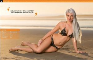 June Walton2 - June Walton topless for Glam Jam Magazine