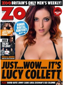 Lucy Collett - Lucy Collett looking pretty sexy for Zoo Magazine