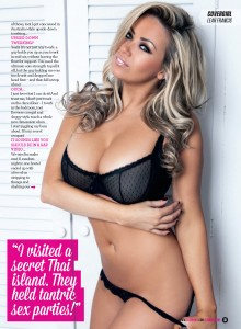 Leah Francis3 - Leah Francis Bra Busting New Shoot for Zoo Magazine