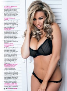 Leah Francis4 - Leah Francis Bra Busting New Shoot for Zoo Magazine