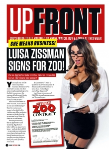 "Luisa Zissman15 - Luisa Zissman is ""Unbelievably Rude"" for Zoo Magazine"