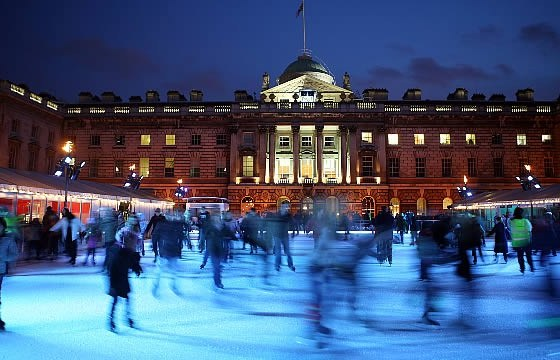 Ice skating rinks in England