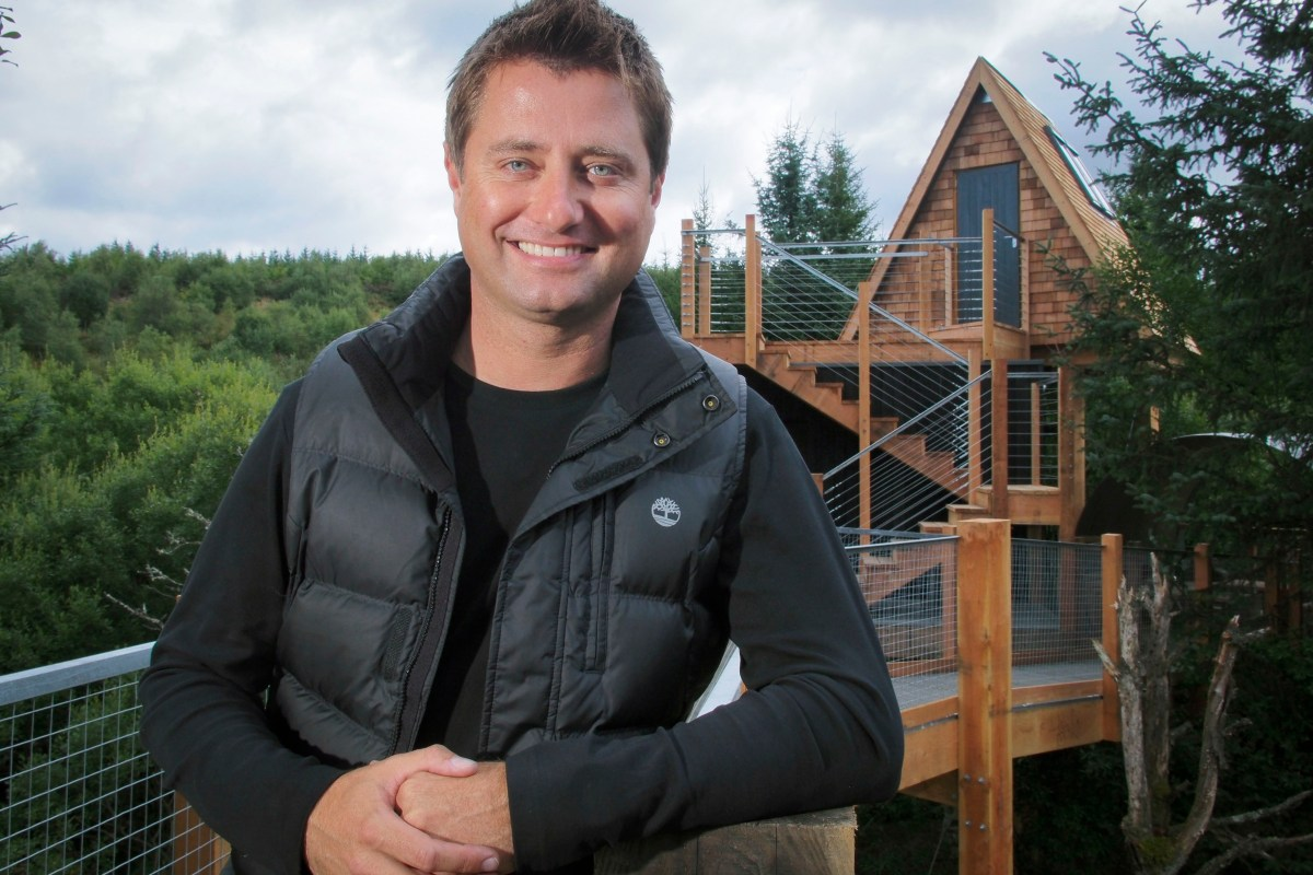 Stay in the treehouse designed by George Clarke