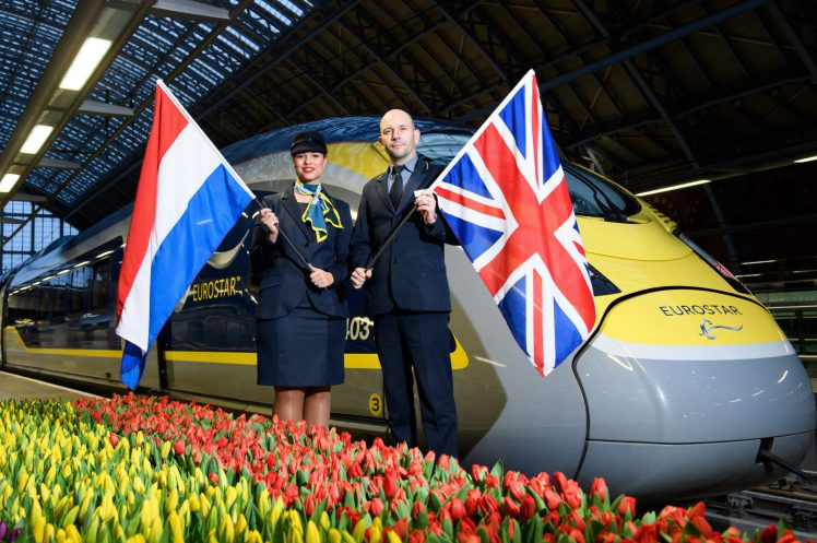 Tickets on sale for Eurostar service from London to Amsterdam