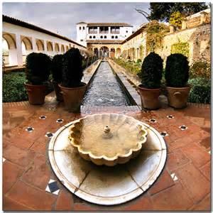 The Palacio del Generalife, Granada