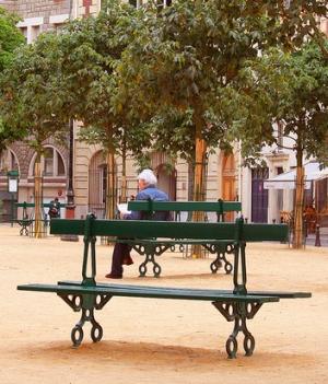 Place Dauphine at Il de la Cite
