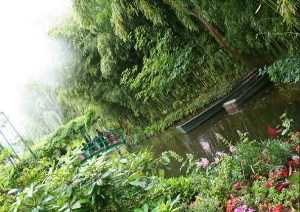 At Giverny, Claude Monet's garden