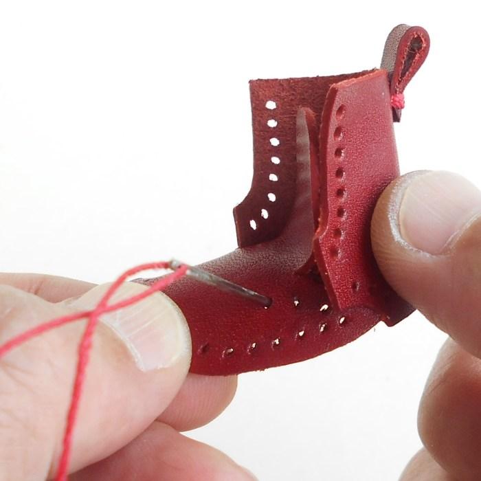あっという間に靴の形になりました