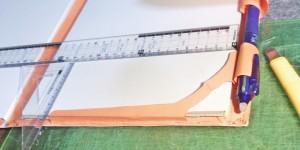 レポート用紙がバサッと外れるのを防ぐセイバー