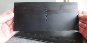 長財布のカードポケット(オーダーメイドの長財布)