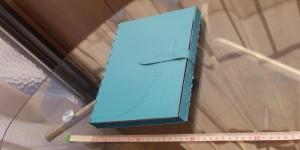 表紙(オーダーメイドの手帳カバーの試作品)