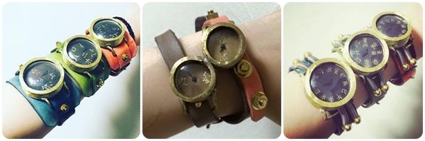 キテレツの手作り腕時計