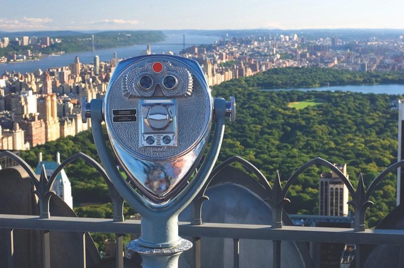 Vue Top of the Rock New York
