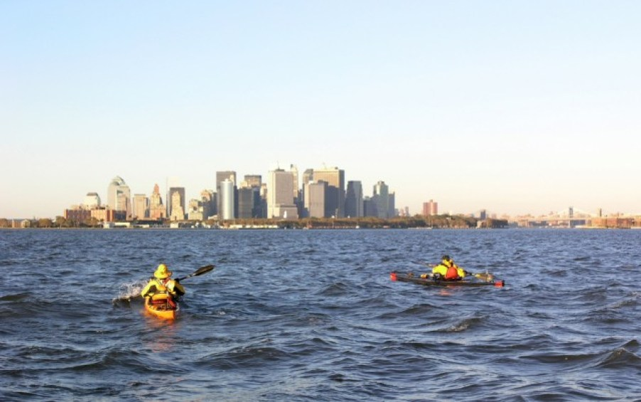 Kayak à New York