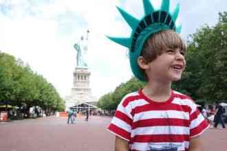 new York enfant