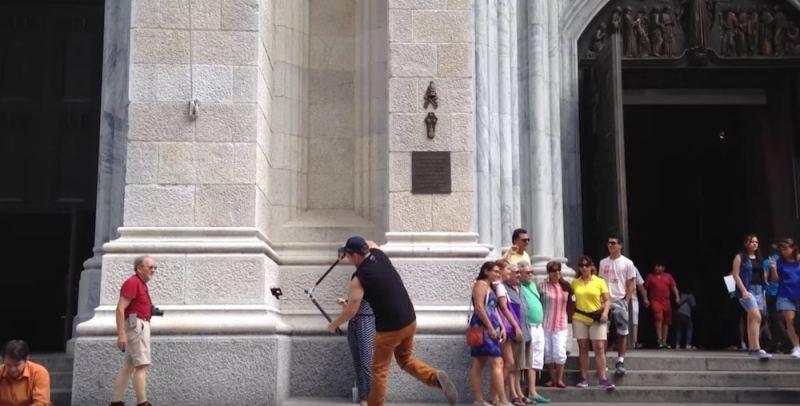 Buddy Bolton selfie sticks 2