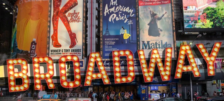 comédie musicale à Broadway