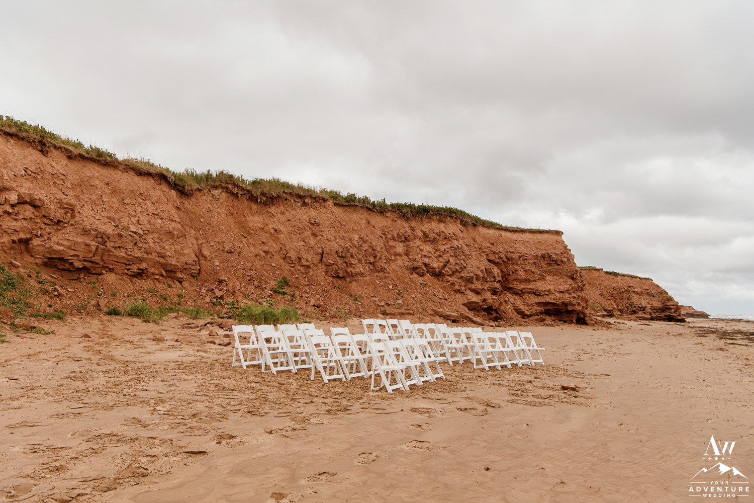 Wedding Ceremony at Thunder Cove PEI