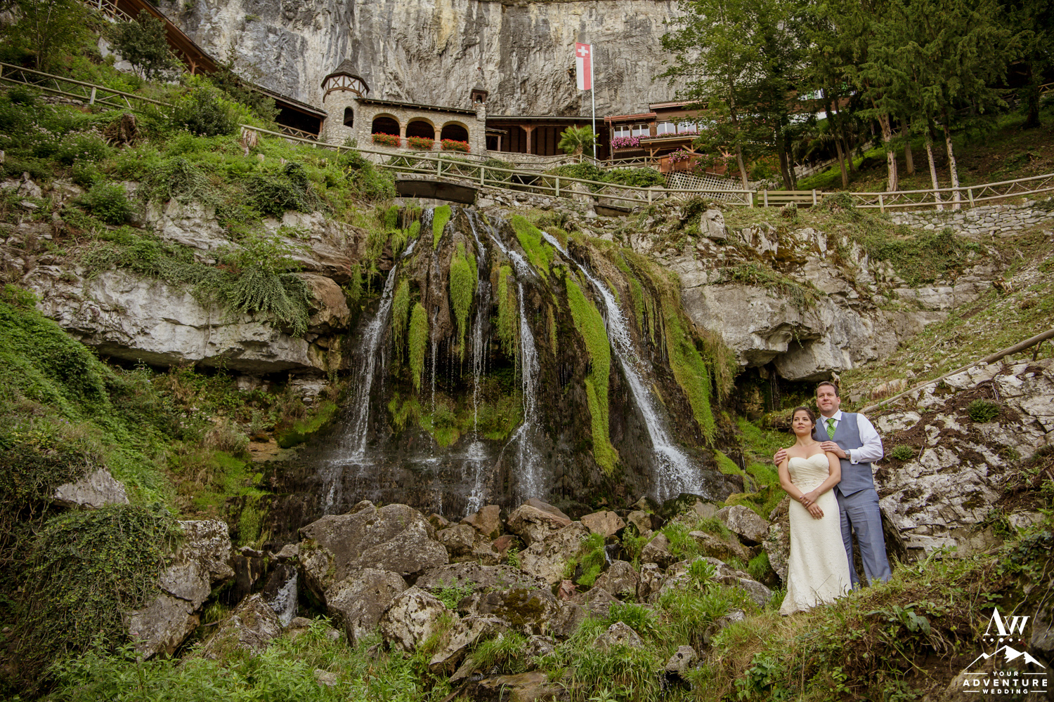 st beatus cave Wedding in switzerland