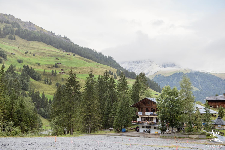 Engstligenalp Switzerland Mountain Lift Access Point