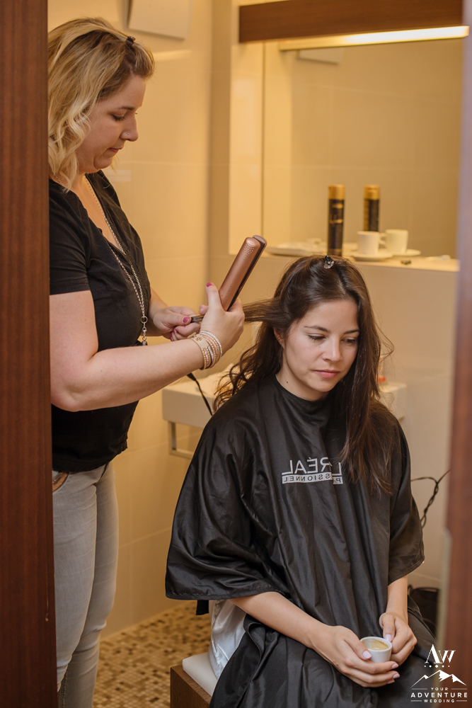 Switzerland Hairstylist at the Cambrian Hotel and Spa