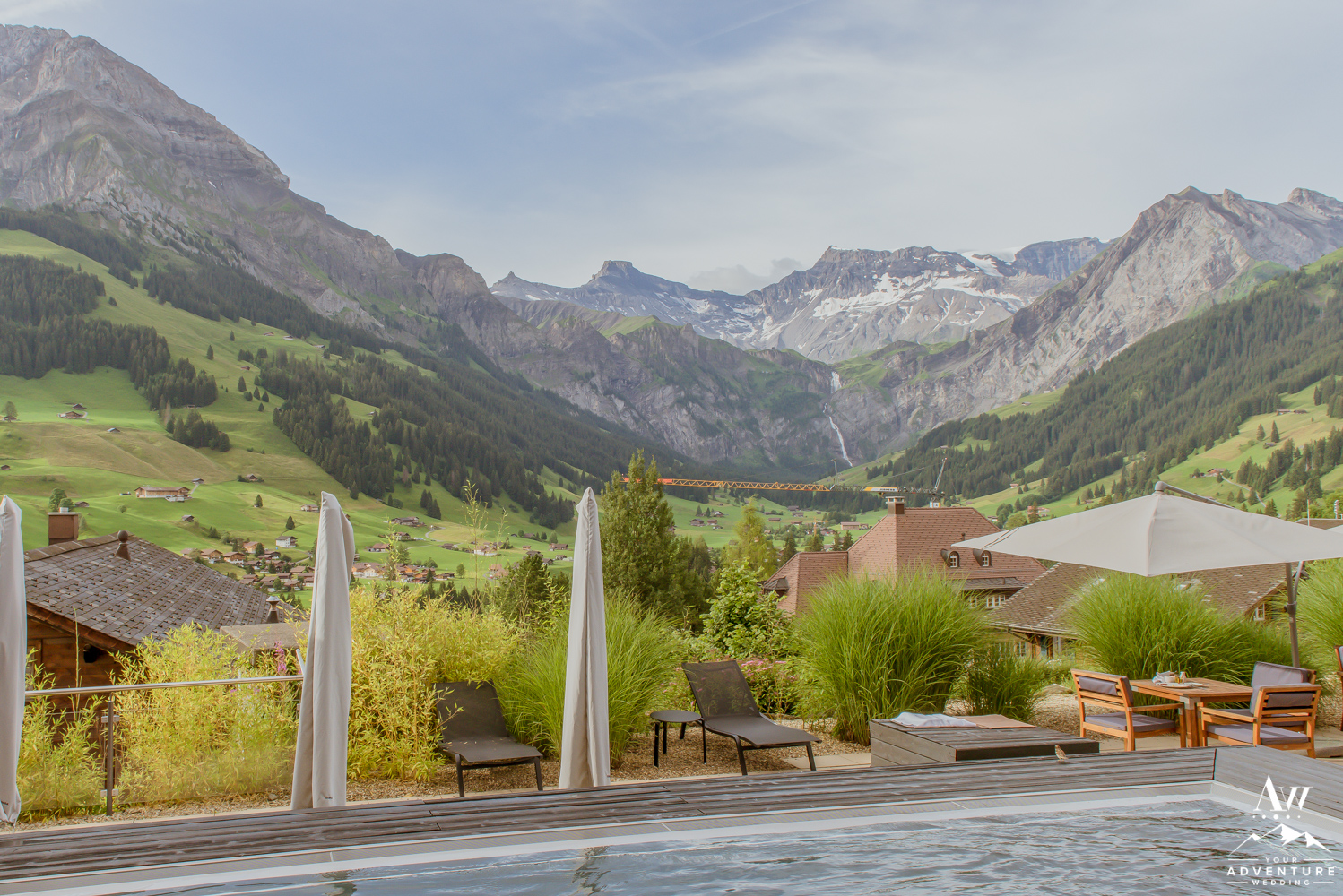 The Pool at The Cambrian Hotel Adelboden