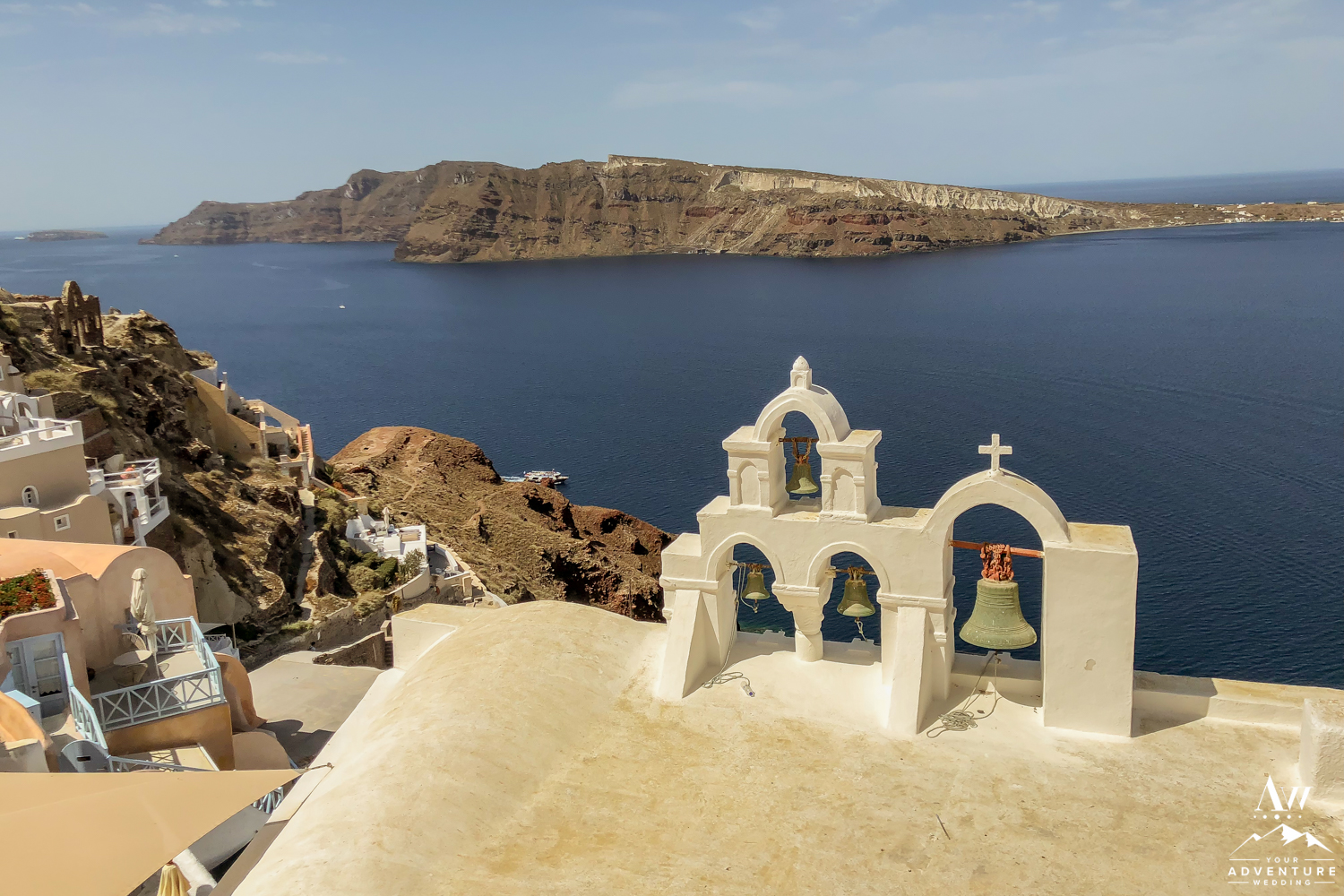 Iconic Places to Elope Santorini Greece