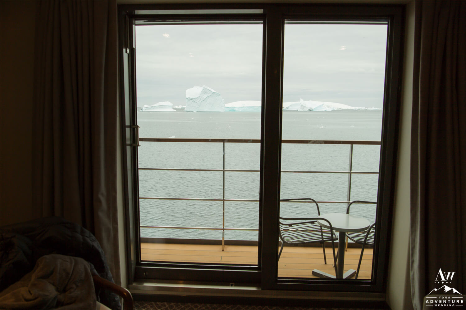 View from Magellan Explorer Grand Suite