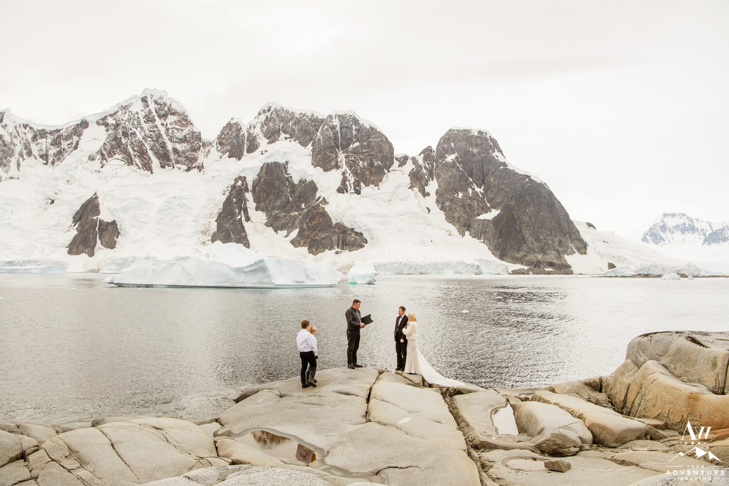Antarctica Wedding Expedition with guests