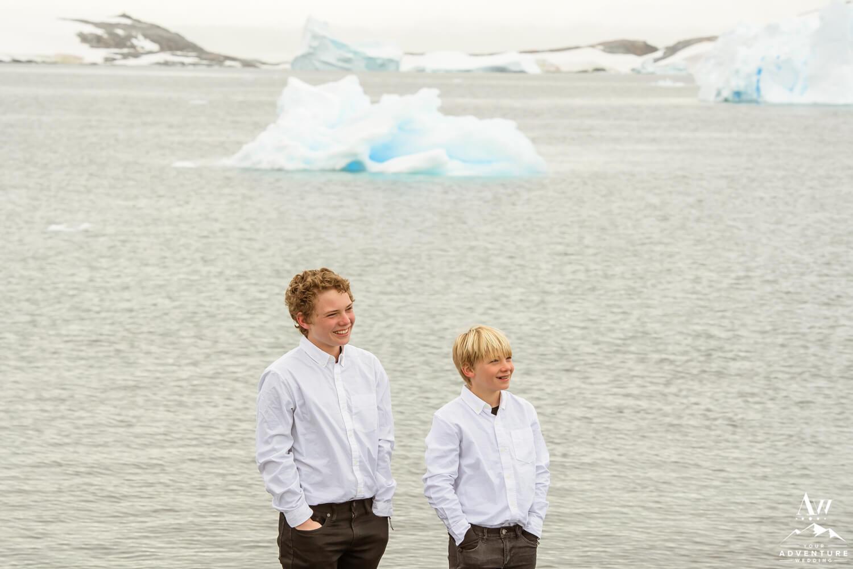 Antarctica Wedding Expedition guests
