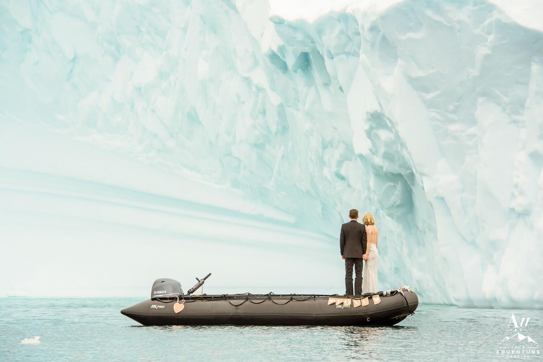 Iceberg Wedding photos in Antarctica