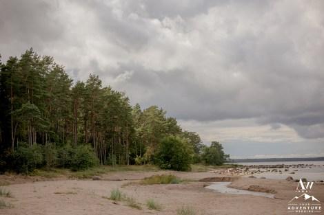 Estonian Beach Wedding