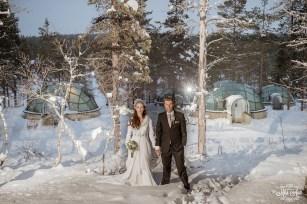Finland Wedding Igloo Hotel by Your Adventure Wedding-7