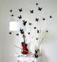 Black Butterfly Wall Stickers | Interior Design Ideas